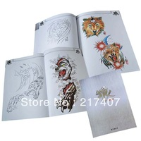 Free Shipping Beatuful  Wolf  Tattoo Flash Sketch Book  A4 New
