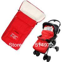 Best Selling!!Newborn Baby Sleeping Bags Winter Baby Sleepsacks for Stroller Cart Basket Fleabag free shipping