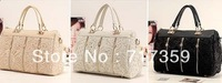 2014 Hot Sale Fashion 1pc handbags women retro lace ladies handbag fashion women messenger bag Leisure packet  Wholesale  640171
