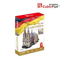 Free shipping , 3D Puzzle , SAGRADA FAMILIA IGLESIA DE LA SAGADA FAMILIA , DIY toy. gift