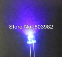 UAV 395-400nm 5mm straw led led 120 degree view angle 3.0-3.5V 20mA Purpal DIP LED DIODE