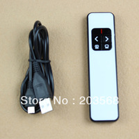 Free Shipping 2.4G Rechargeable Wireless Laser Pointer Remote Control Page Turner Pen PP990
