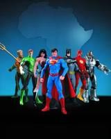 DC Comic New52 Justice League- The 7 set action figure toy model
