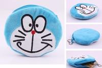 Doraemon Plush Coin Purse & Wallet Pouch Bag Case ; Mini Girl's Handbag Pendant Chain Purse Bag Case Pouch BAG Wallet Handbag