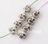Wholesale 150pcs Fashion  High Quality Zinc Alloy  Buddha 10x10mm B1B