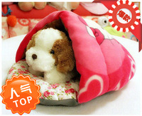 free shipping Pet bed cat litter kennel8 small cotton nest bed waterloo kitt pet sleeping bag thickening