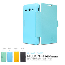 Nillkin HUAWEI c8813 skin fresh series holsteins protective case phone case film(China (Mainland))