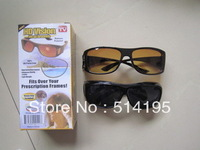 Hot Selling HD High Definition Vision Driving Wrap Around Sunglasses Wraparounds Glasses 1pair=2pcs/lot