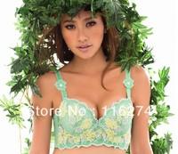 New Arrival Free Shipping Green Women Designer Lady Bra Lingerie Underwear