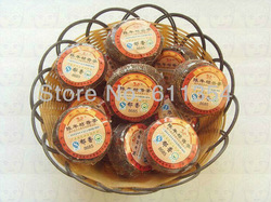 2008 Health Care Tea Premium Yun nan tangerine-like Pu erh Tea 5 pcs+Secret Gift + Free Shipping(China (Mainland))