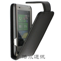 Hot New Arrival Doormoon Brand Real Cowhide Flip Leather Case For HTC C110e Radar Free shipping MOQ 1pcs