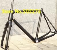 FR-602  Full Carbon 3k Matt (Di2 ) Cyclocross Bike Frame (Full Internal cable)+ Fork + headset  - 51cm, 53cm, 55cm, 57cm