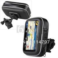 Waterproof Bike Motorcycle GPS Case Bag Cover + Mount Holder