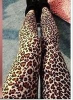 Free shipping Retail&wholesale Fashion sexy  leopard Leggings for women