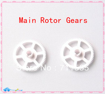 WLToys V922-9 Main Rotor Gears / Main Shaft Gear Principal Gears Spare Parts For WL Toys V922 2.4G 6Ch Flybarless RC Helicopter