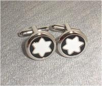 Free shipping! Black and white round Cufflinks,   Fun metal cufflinks, men's cuff links, Fun cuff links  XK0137