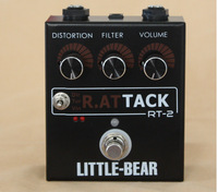 Guitar bass  Distortion Effector 3 RAT DIRTY TURBO VINTAGE Stomp Box Pedal