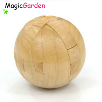 Free shipping!!! Wooden Educational Toy ,Wooden Puzzle,Brain Teaser, Wooden Ball puzzle, IQP091