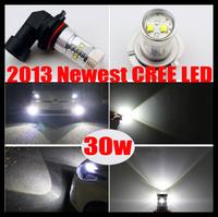 2pcs Bright 600 Lumen CREE Chip H8 30W LED Fog Lamp Bulb Lamp White DRL Headlight Daytime Running LIght High Power