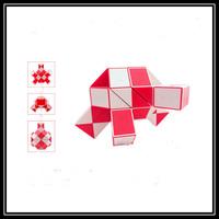 Free shipping 72 Blocks Magic Snake Ruler Cube Puzzle Children Education Imagination Game Toy Gift