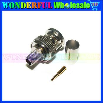 75 ohm BNC Crimp Plug Q9 (BCP-C4F) for CANARE