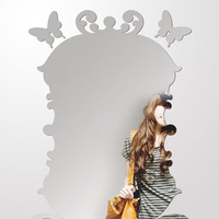 Mirror stickers three-dimensional relief mirror wall stickers ct005 acrylic mirror endomorph mirror