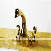 banheiro torneira cozinha kitchen faucet guarantee solid animal swan shape faucet- polished / bath & kitchen store free shipping