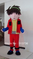 Free Shipping Adult Size New Cool Boy Cartoon Cosplay Mascot Costume Christmas Hallowmas Party Dress