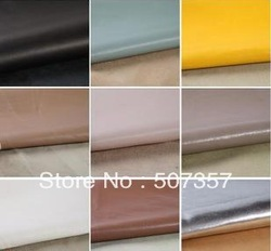 Wholesale diapers / waterproof mattress leather cloth / solid color handmade diy leather fabric soft pack(China (Mainland))