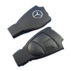 New Arrival 3 Buttons Smart Key Shell for Mercedes-Benz Mercedes Key Fob Replacement Remote Controller Case Auto Key Shell(China (Mainland))