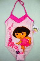 4024B Free Shipping wholesale 8 pieces in 1 lot Dora Baby kids children Swimwear Girl Bikini
