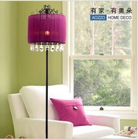 2103 Modern bedroom lamps floor lighting,floor crystal lamp,YSL-0094,Free shipping