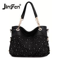 Jinfen Lace bags 2012 women's handbag fashion shoulder bag messenger bag TB026-88103