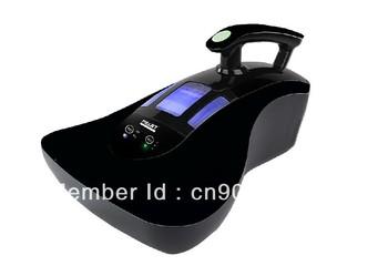 Anti-ácaros / bacterias aspiradora cama con lámpara uv, aspiradora motor, recogedor, y barniz de la hornada