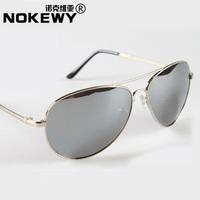 Sunglasses contracted frog mirror reflective sunglasses, Japan and South Korea elegant sun glasses
