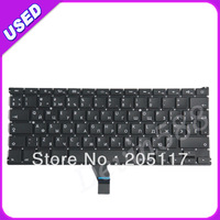 "5PCS /LOT 11.6"" RU Russian keyboard For Macbook Air A1370 MC505 MC506 2011, TESTED !"