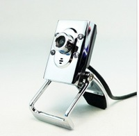 Webcam hd webcam night vision metal clip notebook