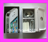 1 PC EU version white box package with accessories charger, headset cable for iphone 4s 32gb