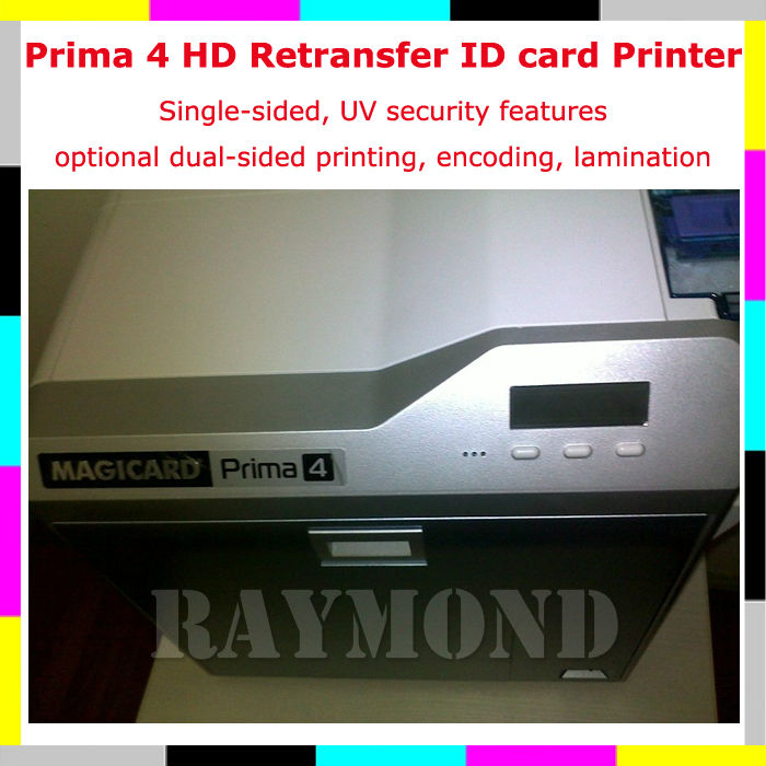 Magicard Prima4 ID card Printer Single-sided printing(China (Mainland))