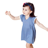 MECOX LANE children's clothing sweet polka dot one-piece dress