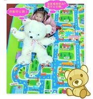 High promotion200*160cm Larger size ~ Baby play mat ( High quality ) baby crawl mat City style free shipping