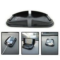 New Arrival Car Accessory Storage Box Mat PVC Non-Slip Pad For Iphone Free Shipping
