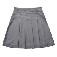 Christmas gift Harry Potter School Uniform Hermione Granger Grey Pleated Wool Skirt