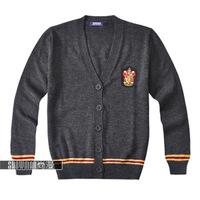 Christmas gift New Fashion Harry Potter Gryffindor long-sleeve cardigan sweater  coat  free size