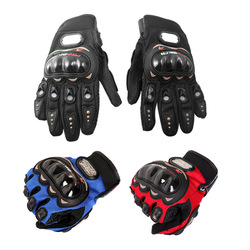 Men Fashion Motorcycle Racing Accessories &amp; Parts Bike Bicycle Sports Full Finger Protective Gear Gloves Free Shipping Wholesale(China (Mainland))