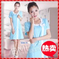 Beauty services work wear summer work wear elastic cotton ladies beauty salon uniform