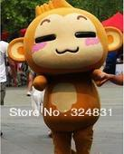 Hot Sale,High Quality Mascot Costume,CICI&YOYO,monkey costume,cartoon costume,free shipping(China (Mainland))