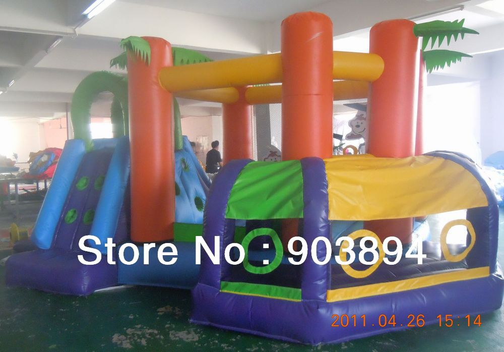 Best Sale Of Inflatable Bouncer Slide Bouncy Combo(China (Mainland))