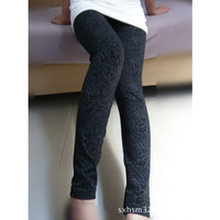 2012 Spring and Autumn subsection gray lines cotton leggings / pantyhose Size soft tight 09