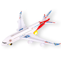 Sky Bus flashing electric passenger airplane electrionic airplane with lights children toys free shipping